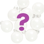 3cm Bauble Ornament (Mystery Selection) (x9)