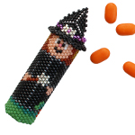 Halloween Witch Tube Ornament Pattern