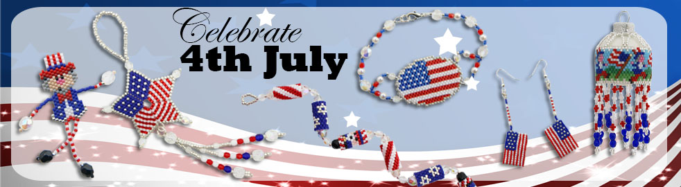 4th July Bead Patterns