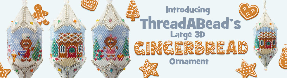 Large Gingerbread Ornament Pattern