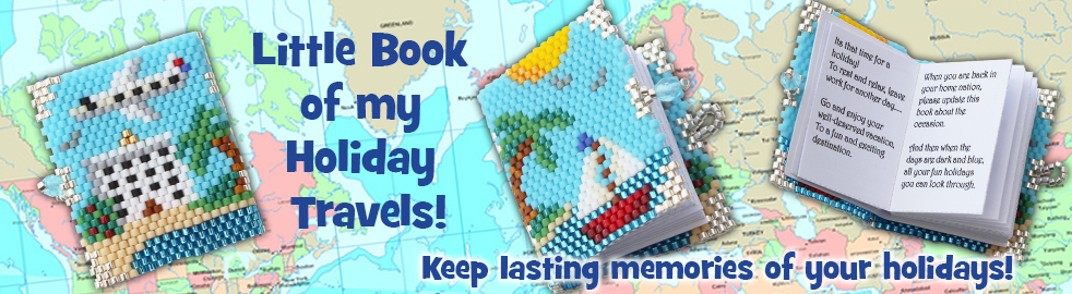 ThreadABead The Little Beaded Book of Holiday Travel Bead Pattern