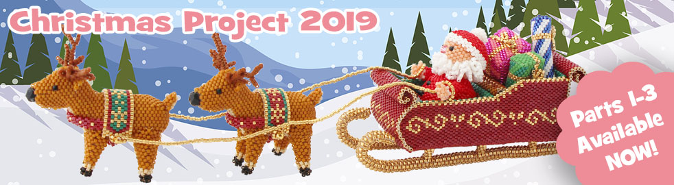 ThreadABead Christmas Project 2019