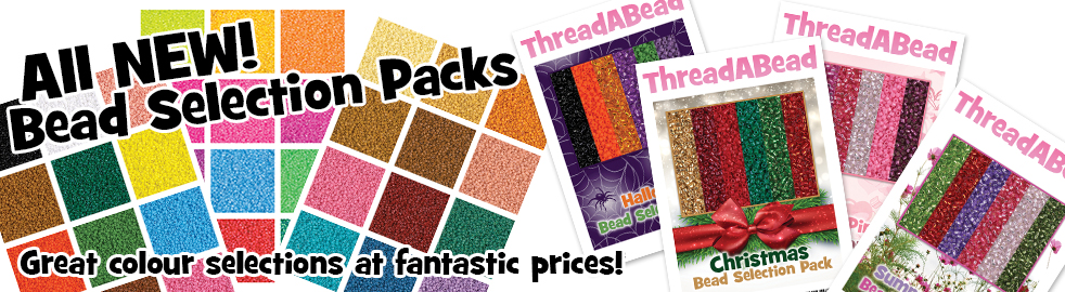 ThreadABead Miyuki Delica Bead Selection Packs