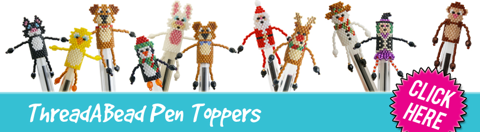Pen Topper Bead Patterns