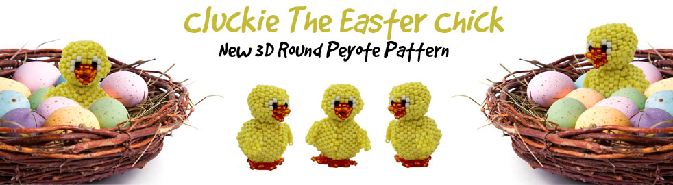 Cluckie The Chick Bead Pattern