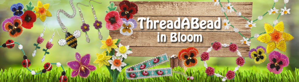 Flowers in Bloom Bead Patterns